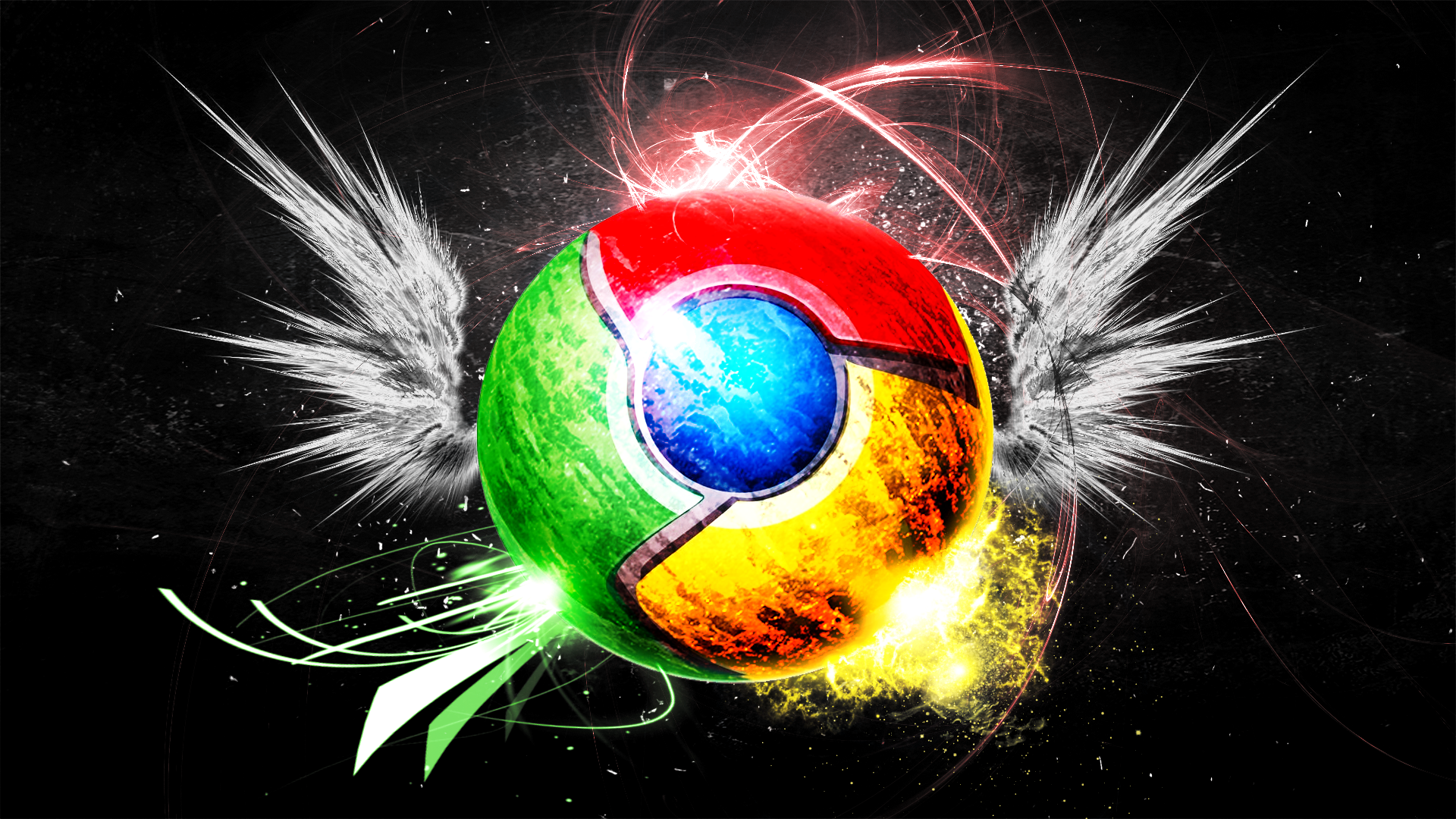 google chrome wallpaper by hardii