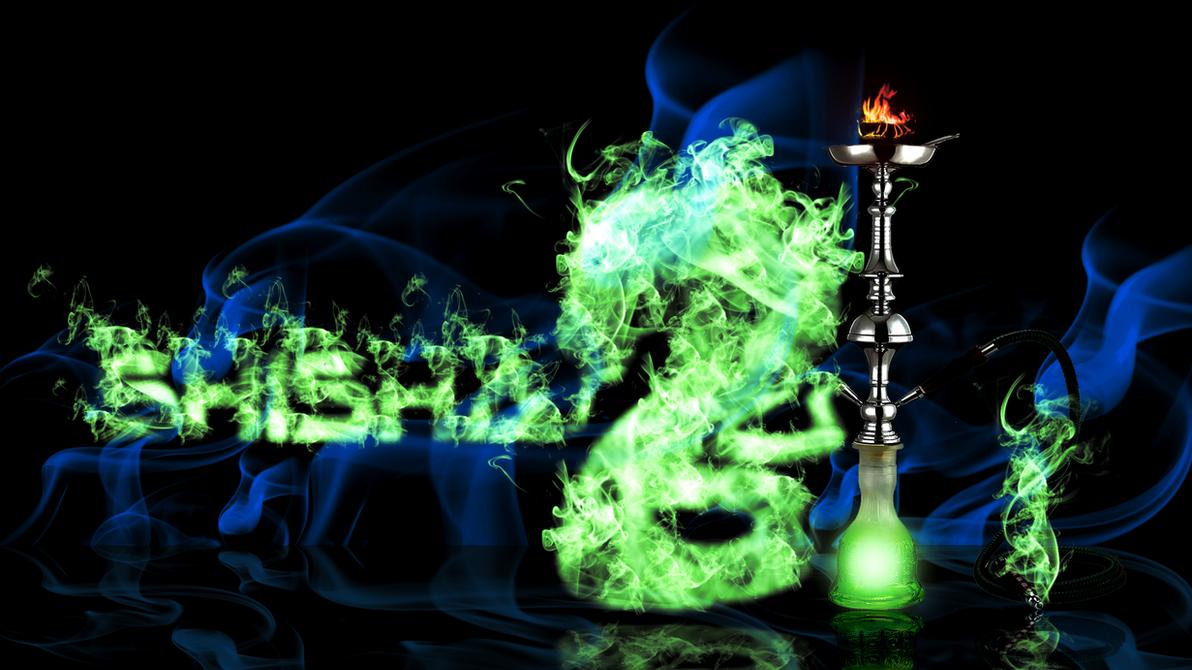 Shisha (Hookah Wallpaper) by Hardii