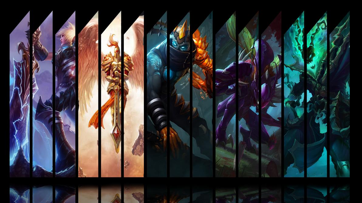 League of Legends (Wallpaper) by Hardii