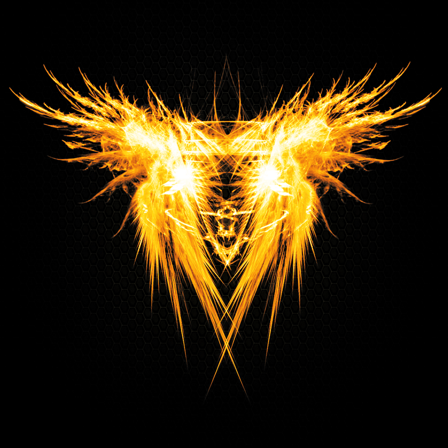 Hardi's Logo on fire! by Hardii