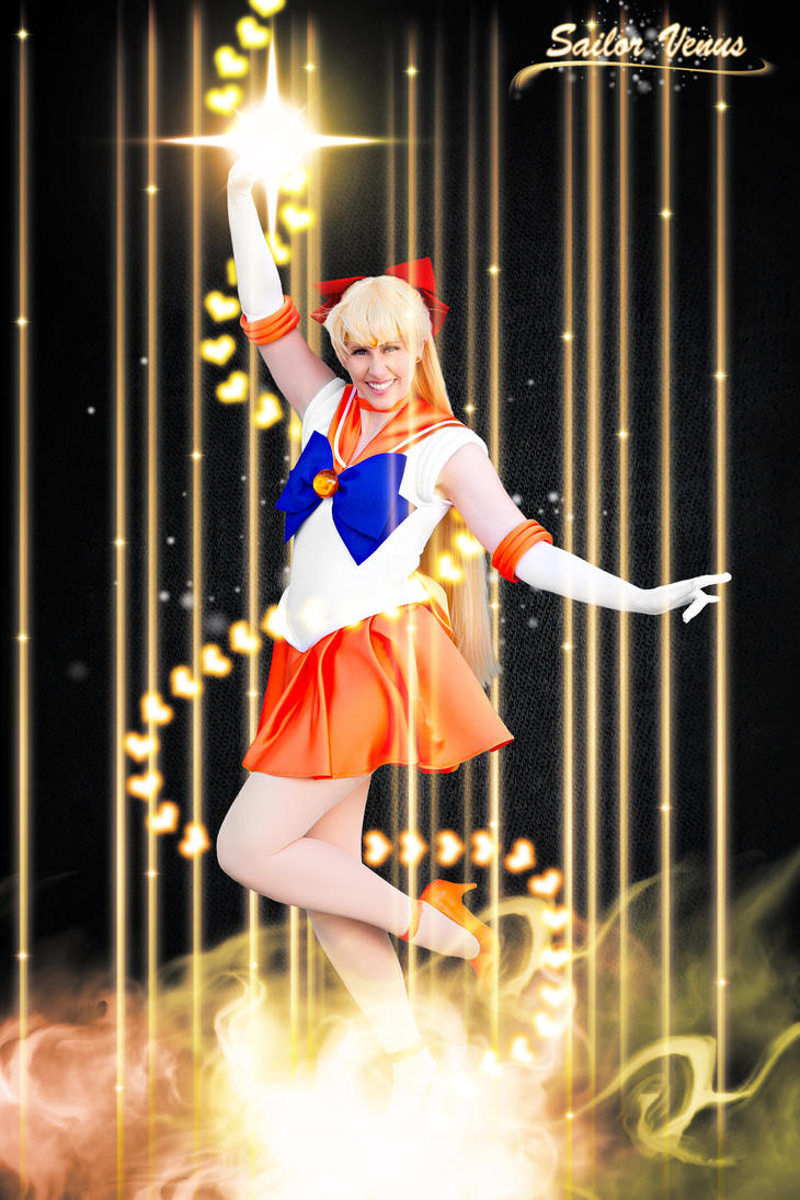 Sailor Venus Cosplay (Edit) by Hardii