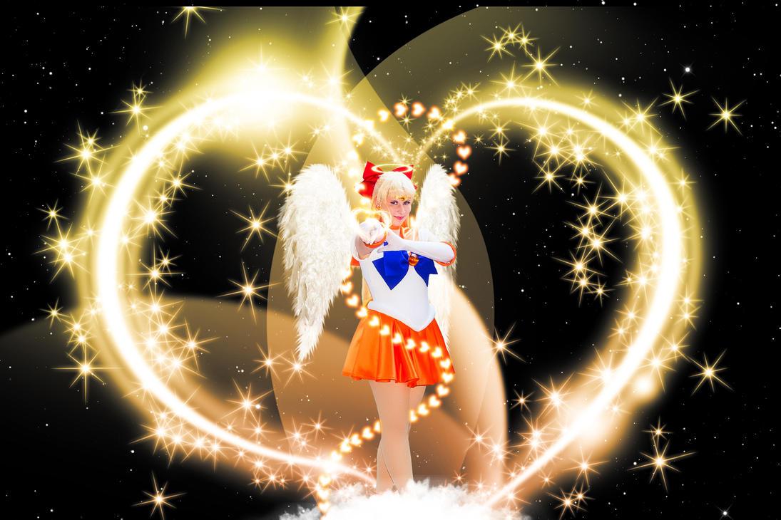 Sailor Venus Cosplay (Edit 4 Angel) by Hardii