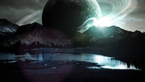 Rising Planet (Wallpaper) by Hardii