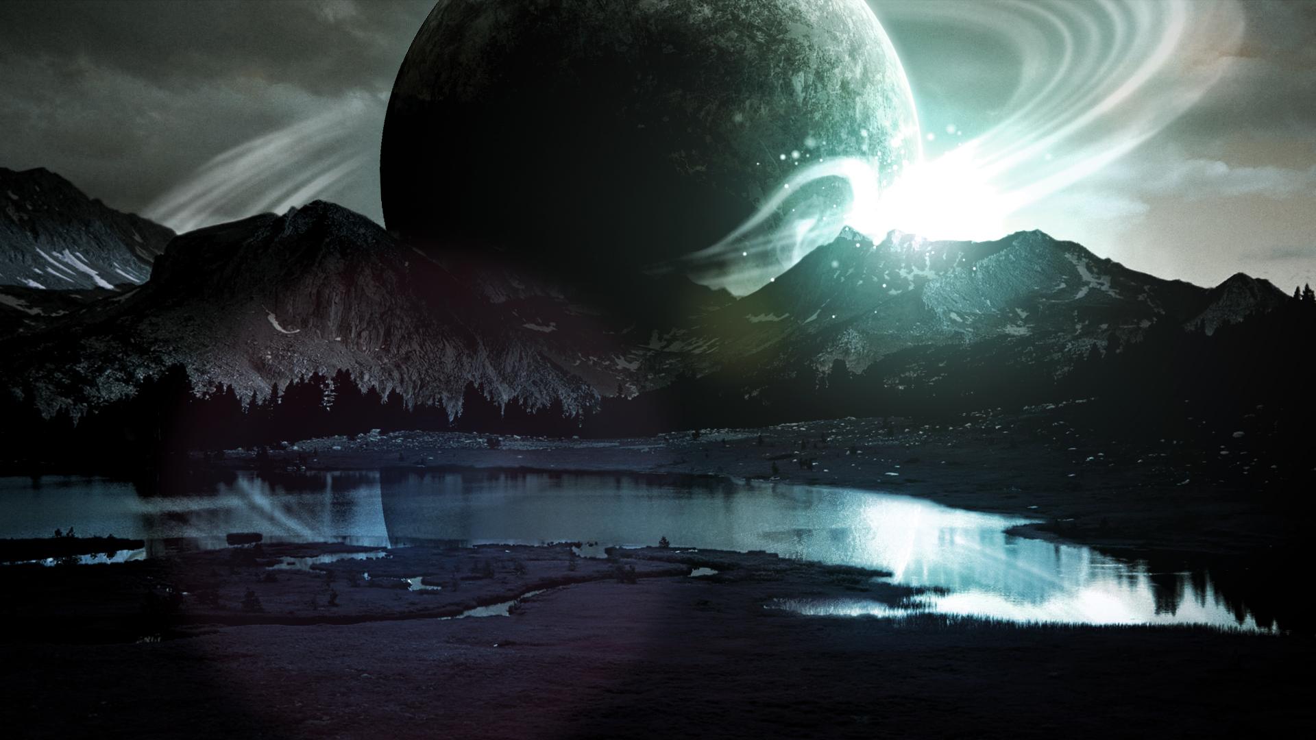Rising Planet (Wallpaper) by Hardii on DeviantArt