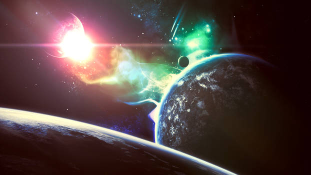 Colorful Universe (Wallpaper)