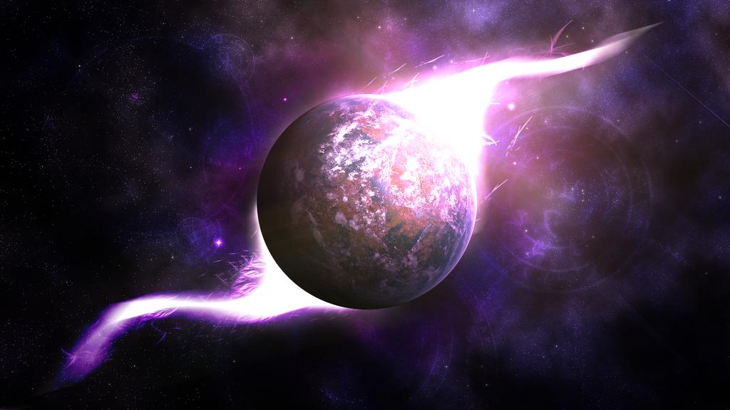 Time Planet (Arttrade with Akiria565 ) by Hardii