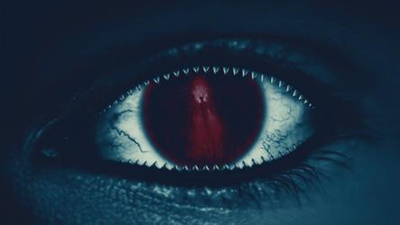 Evil Eye (Remake Wallpaper) by Hardii