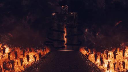 Hell's Gate (Wallpaper) by Hardii