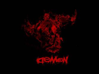 Demon Logo (Sec Logo of mine) by Hardii