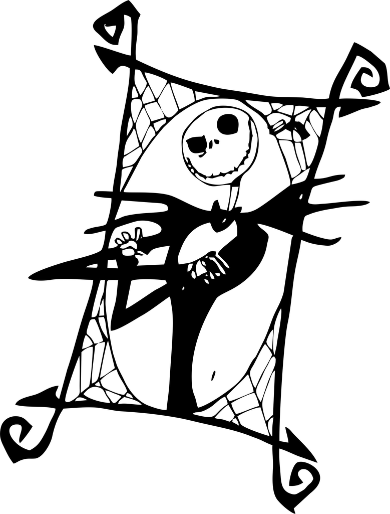 Jack Skellington Coloring Pages Coloring Pages Skellington Coloring Page