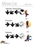 Ken's Move List by KidGray