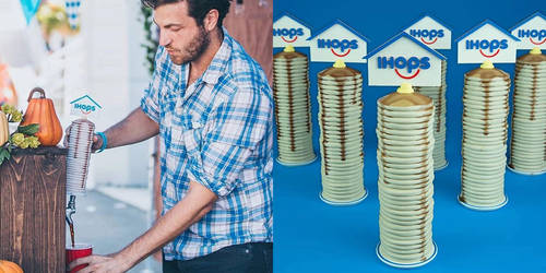 Ihop Tap Handle 3D Print by KidGray