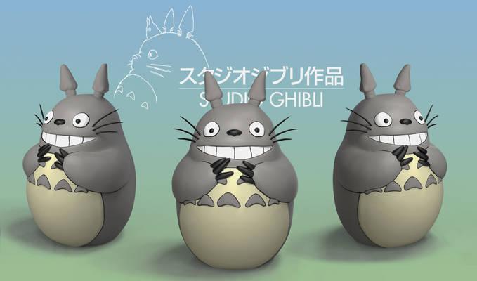 Totoro Renders