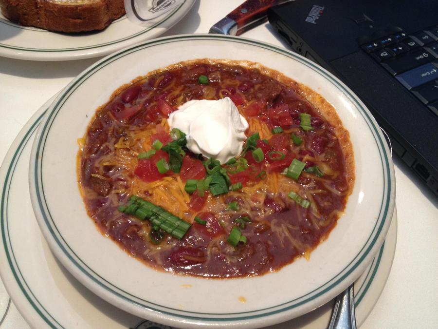 Bowl of Chili by nosugarjustanger