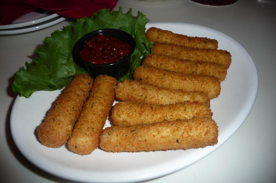 Mozzarella Cheese Sticks by nosugarjustanger