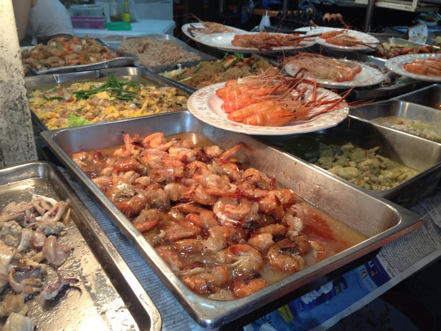 Street Food in BKK by nosugarjustanger