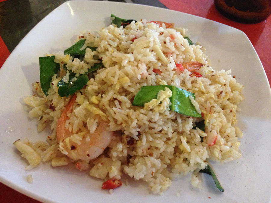 Spicy Thai Seafood Fried Rice by nosugarjustanger on DeviantArt