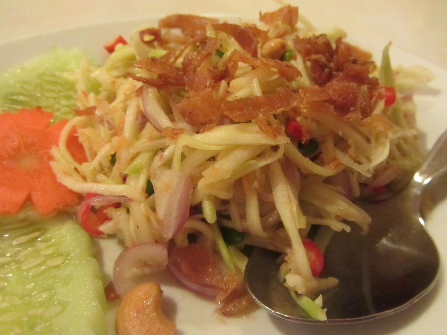 Spicy Mango Salad by nosugarjustanger