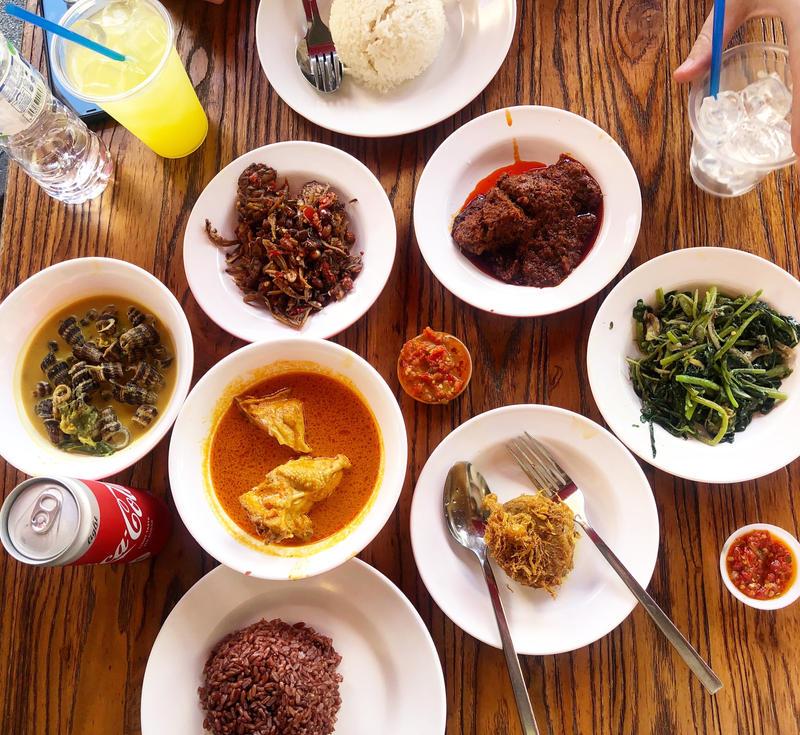 Indonesian Nasi Padang Feast