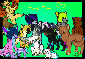Bunch of Freaks by CactusFruits