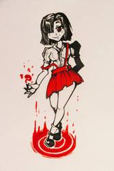 31 Yokais // Hanako San by GaddTheThief