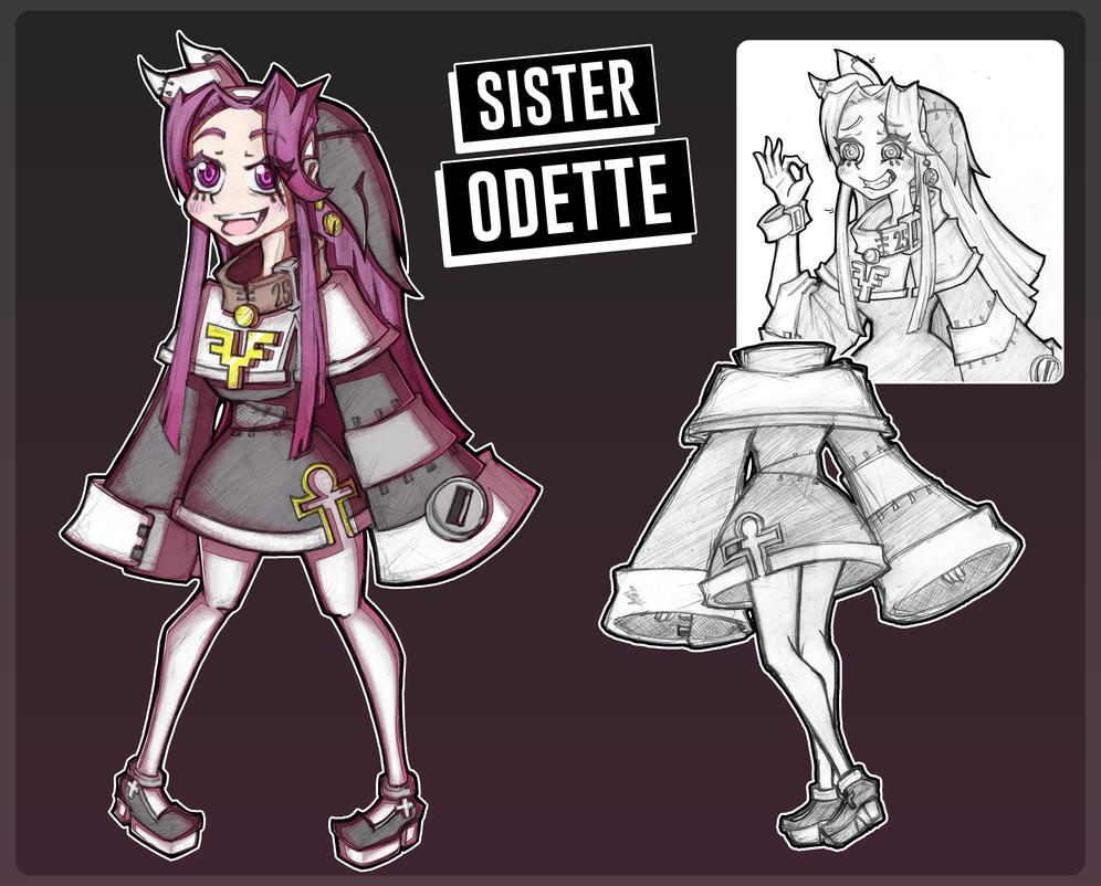 Sister Odette Character Design by GaddTheThief