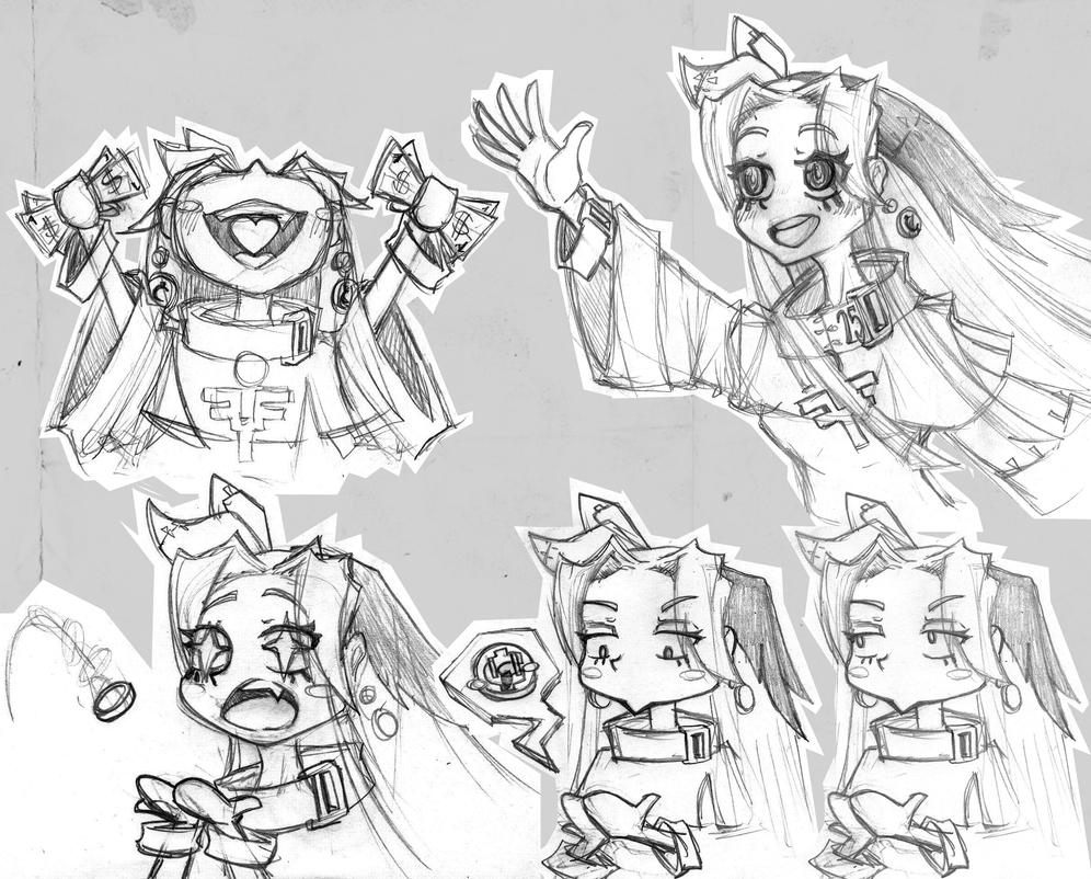 Random Sketches from Sister Odette by GaddTheThief