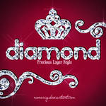 Diamond's Layer Style