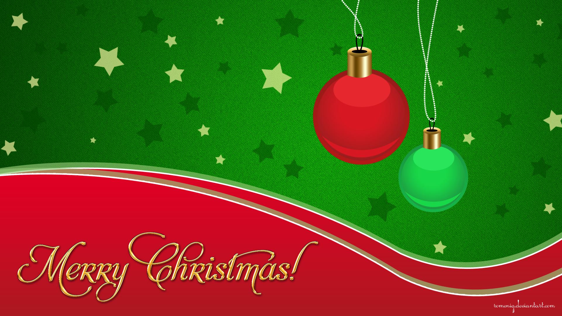 Merry Christmas Wallpaper By Romenig On Deviantart