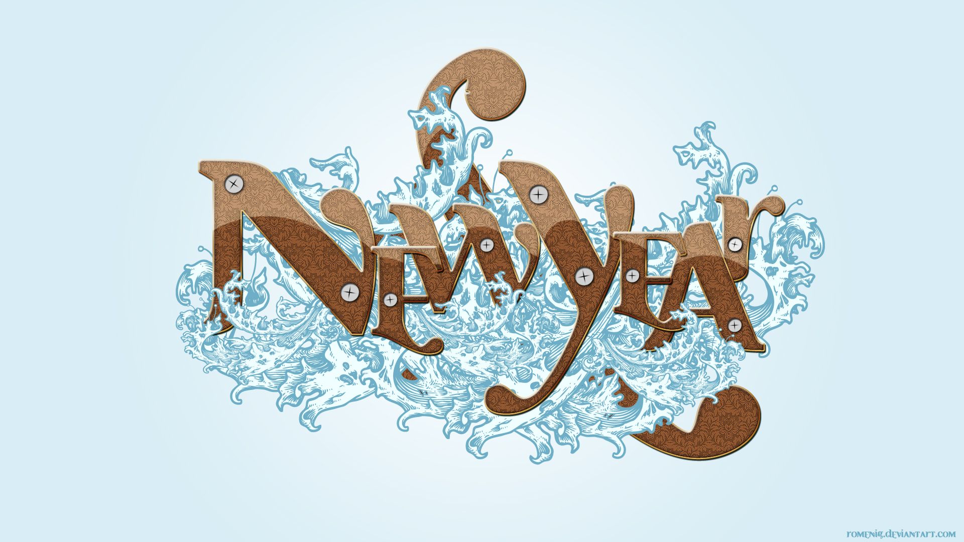 New Year by Romenig