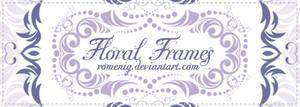 Floral Frames Brushes