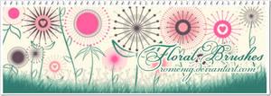 Floral Set Brushes