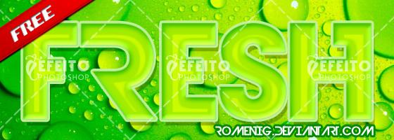 Fresh Layer Style by Romenig