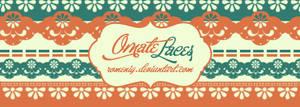 Ornate Laces Brushes