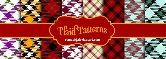 Plaid Patterns by Romenig
