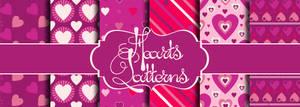 Cute Hearts Patterns