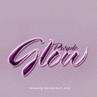 Premium Purple Glow Style by Romenig