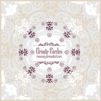 Ornate Circles Free Brushes by Romenig