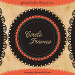 Premium Vintage Circles Frames