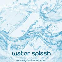 Water Splash Photoshop Brushes
