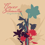 Flower Silhoettes Brushes