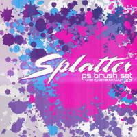 Splatter PS Brushes by Romenig