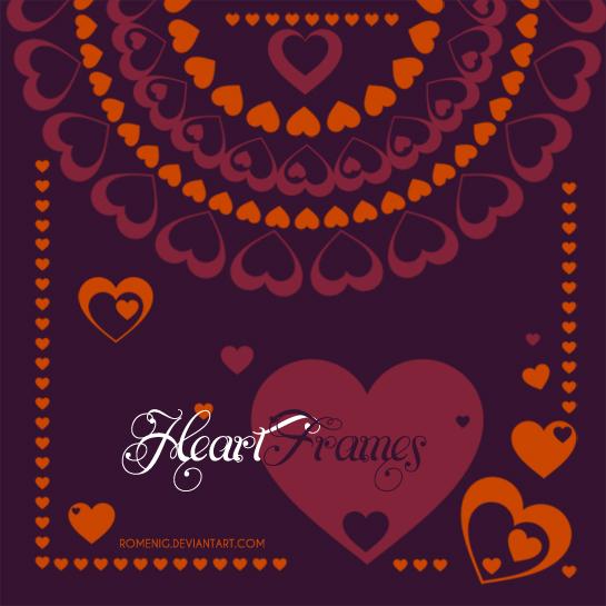 Heart Frames Brushes