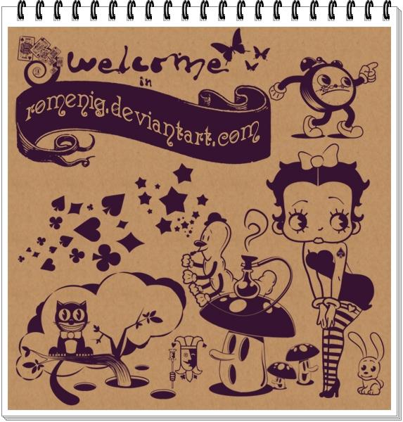 Betty Boop in Wonderland