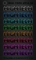 High Tech Text Styles