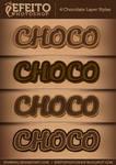 4 Chocolate Text Styles