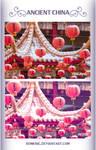 Vintage China Psd Coloring