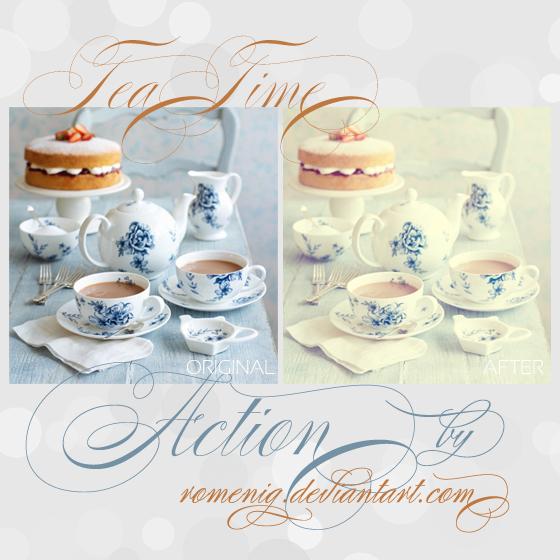 Tea Time Free Action