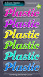 Cool Plastic Layer Styles