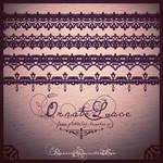 Free Vintage Laces Brush Set